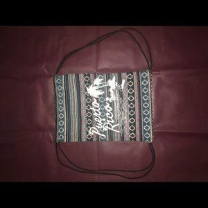 Handbags - Puerto Rico Drawstring Bag